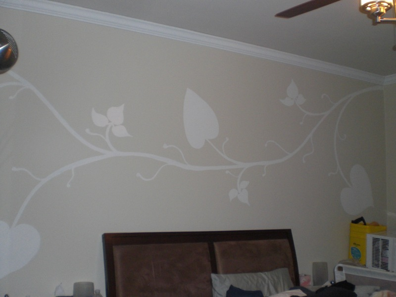 These Are Photos Of My Work As A Private Wall Mural Artist. The Medium Is  Acrylic For The More Elaborate Images And Semi Gloss Wall Paint For The  Scrawling ...