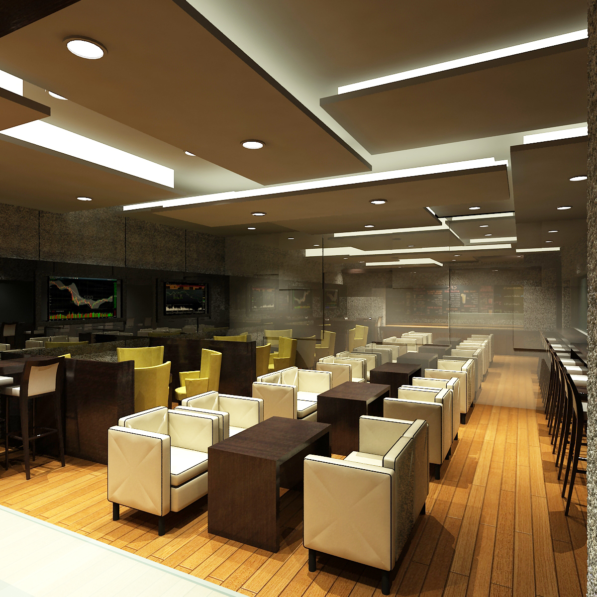 Commercial Interior Design And: Interior Design-Commercial-Trading Cafe-2010-Proposal By