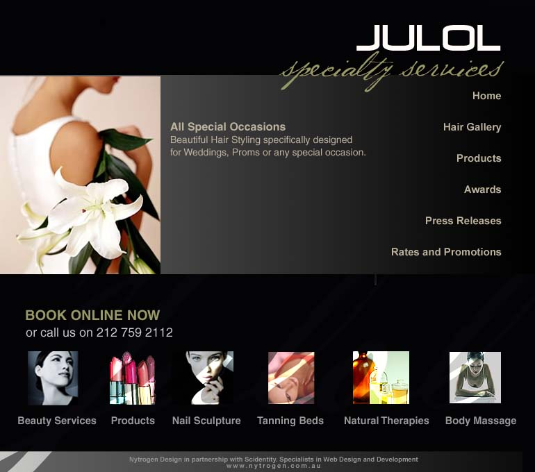 Website Design by Kelecia Tate at Coroflot.com