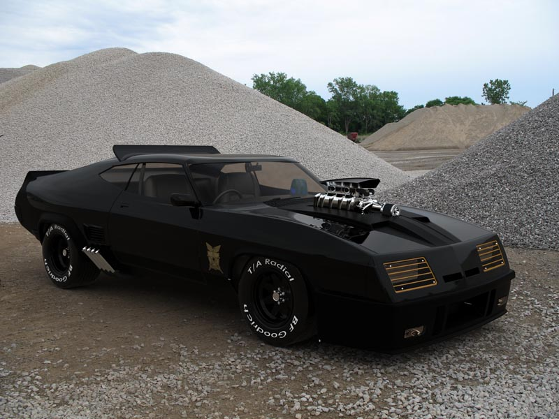mad max interceptor by mark quessey at. Black Bedroom Furniture Sets. Home Design Ideas