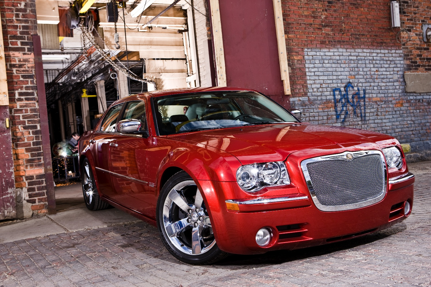 chrysler 300 dub edition photoshoot by lau ardelean at. Black Bedroom Furniture Sets. Home Design Ideas