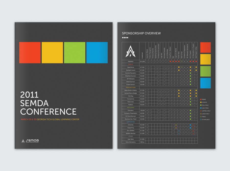Semda Conference Brochure by Matt Simpson at Coroflot.com