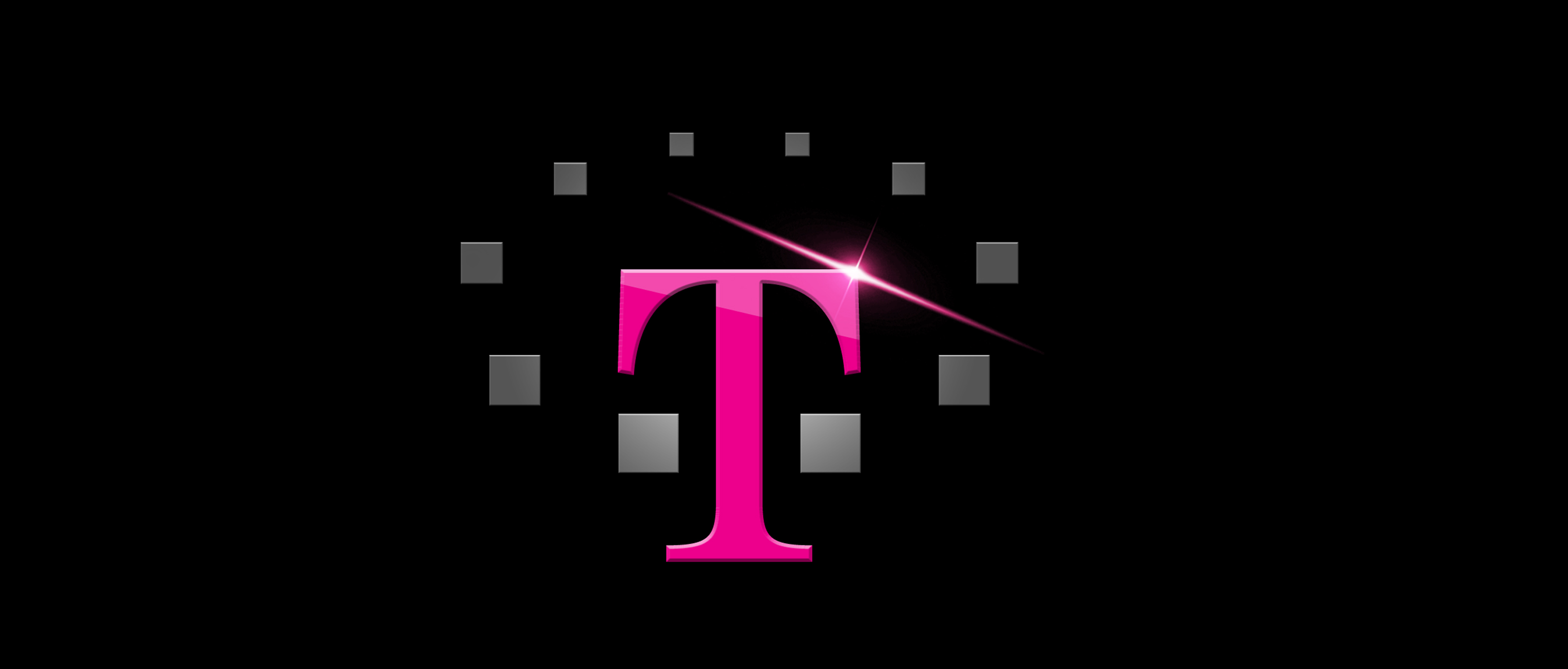 T mobile 10 years logo by kathleen grebe at for Mobile logo