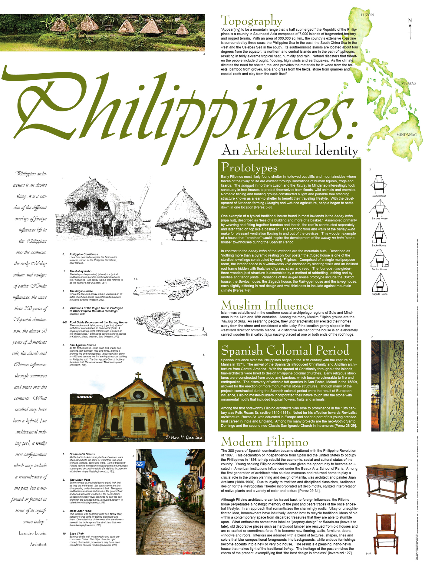 Poster design architecture - Hfavoriteqview Full Size Philippine Architecture Poster Layout Design