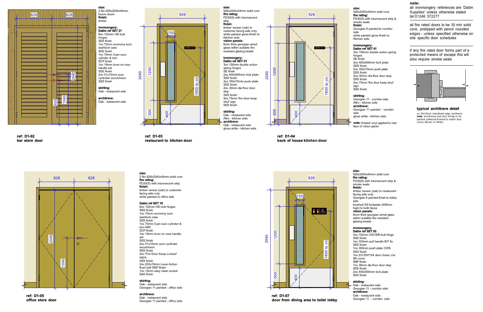 Door Schedule Drawing Door Schedule Vectorworks