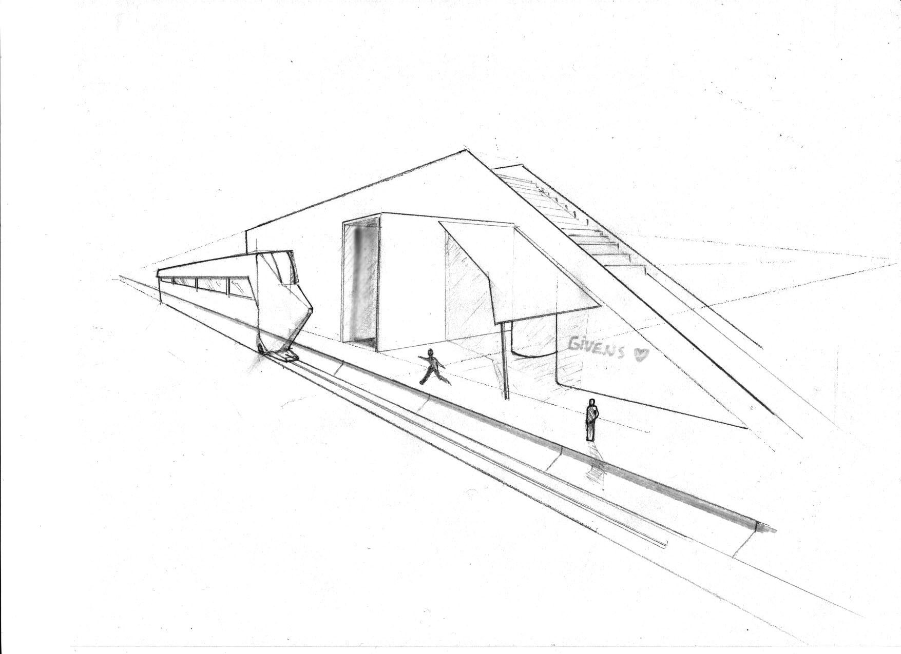 Raw Architecture Drawings By Jamal Givens At