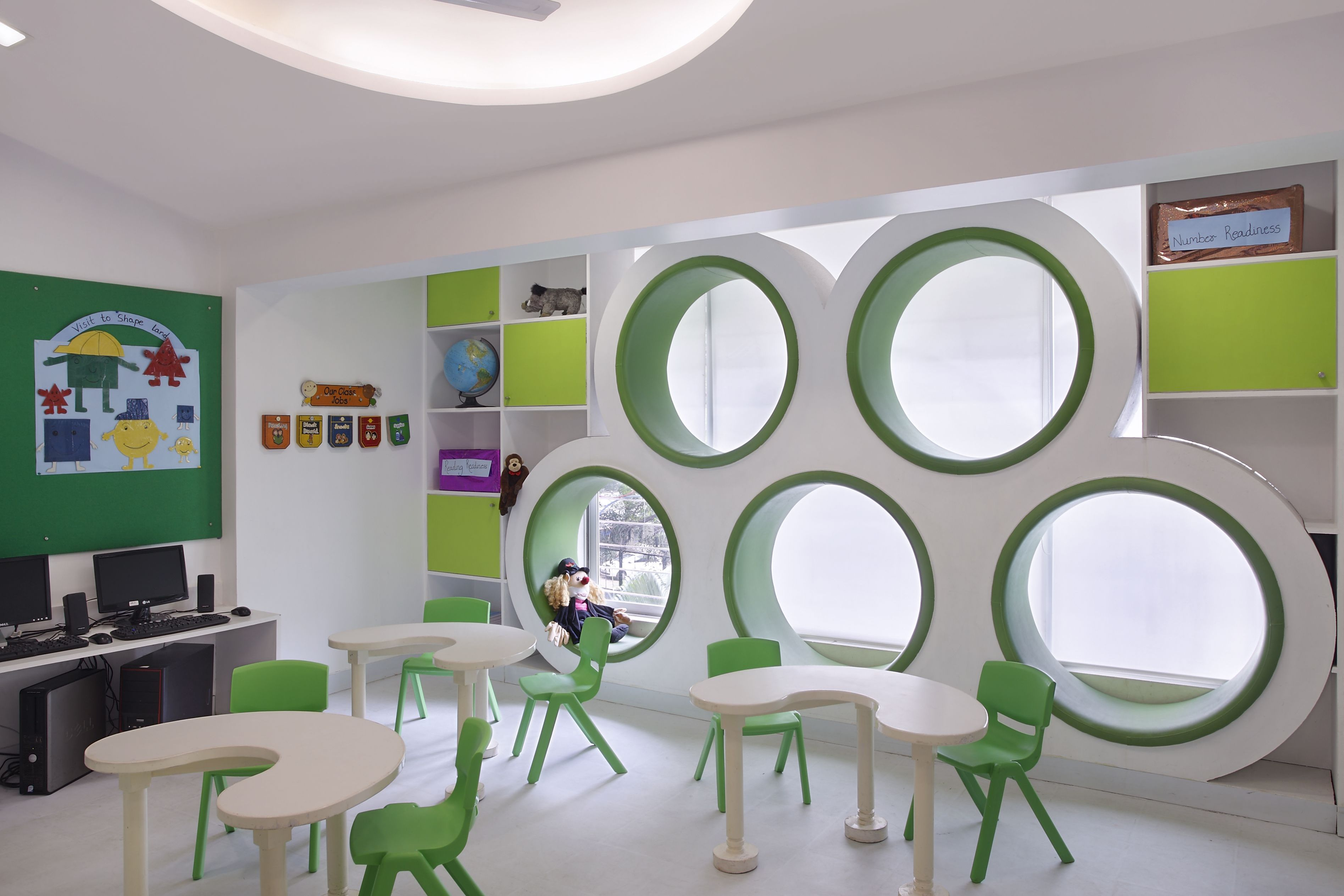 Kids school interior design - Kangaroo Kids Bandra Mumbai Commissioned To Design India S No 1 Pre School Here Are The Results