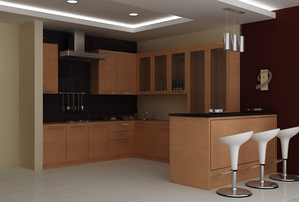 Kitchen set by decario indonesia at for Full set kitchen