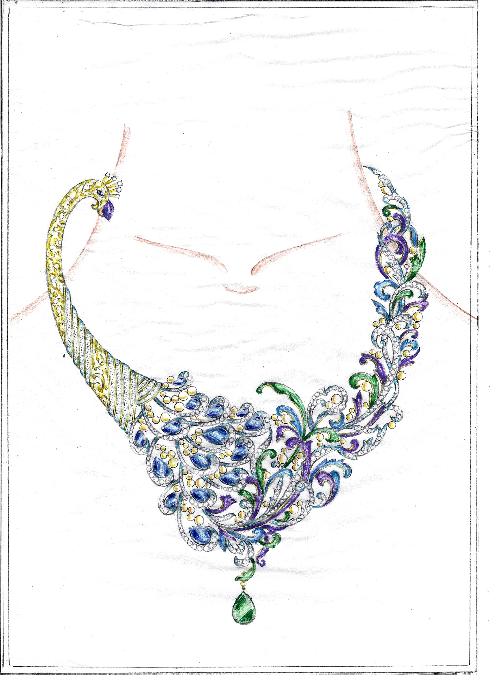Jewelry Design Line Art : Iijs solitaire design awards by payal sanghvi at