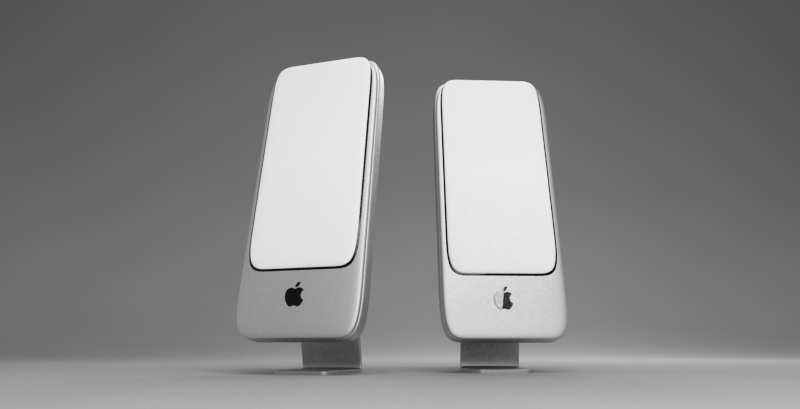 how to connect external speakers to imac