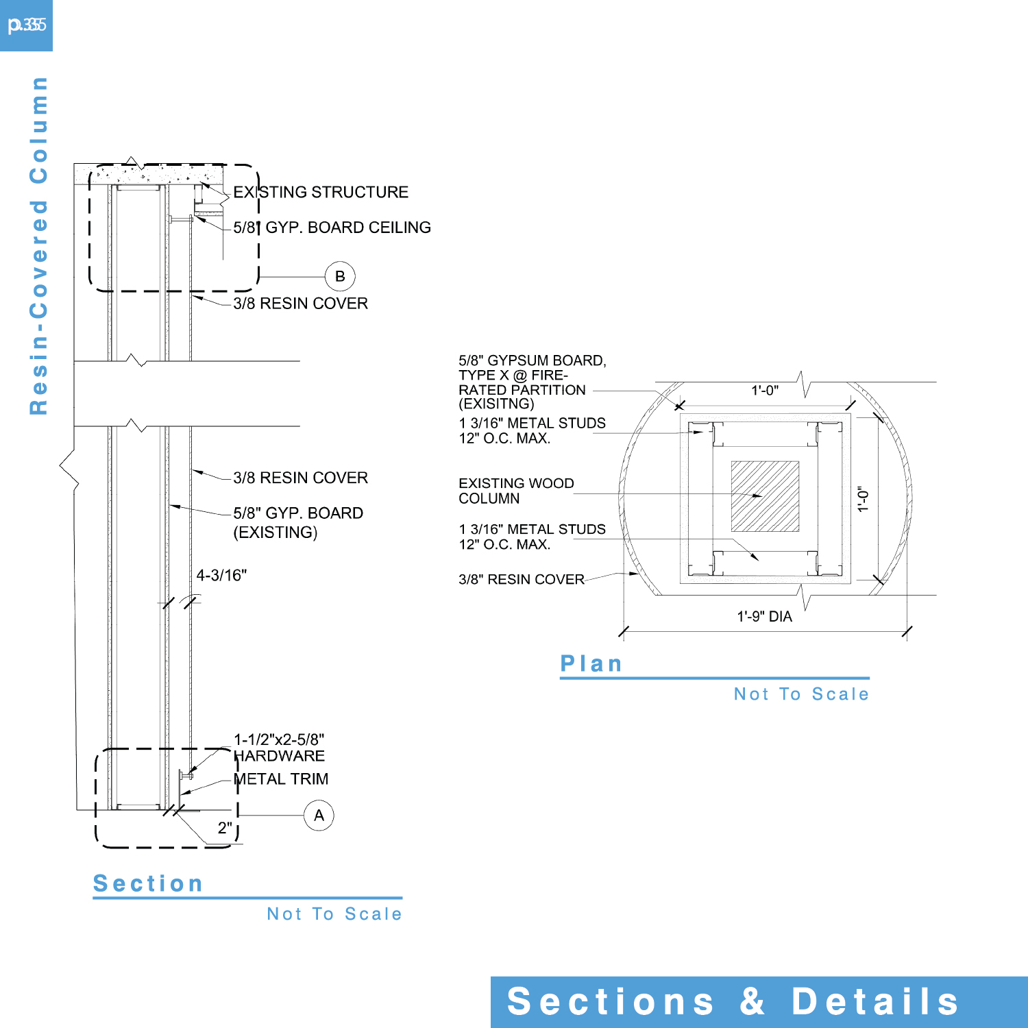 Architectural detailing interior design programming by for Full size architectural drawings