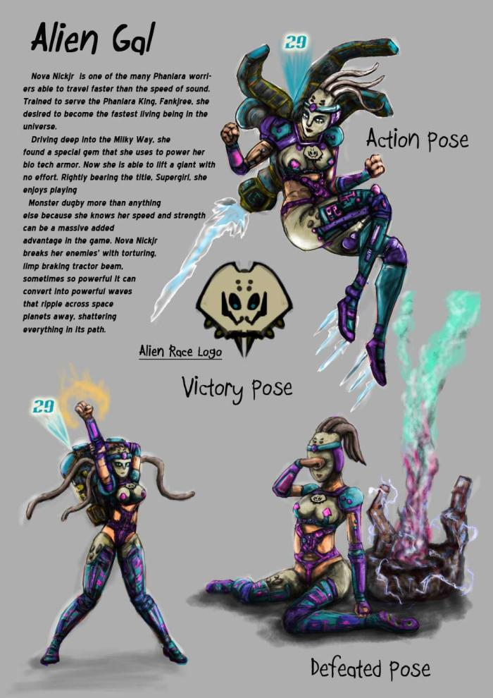 Character Design Portfolio Pdf : Character design and drawing portfolio by chen xiangdian