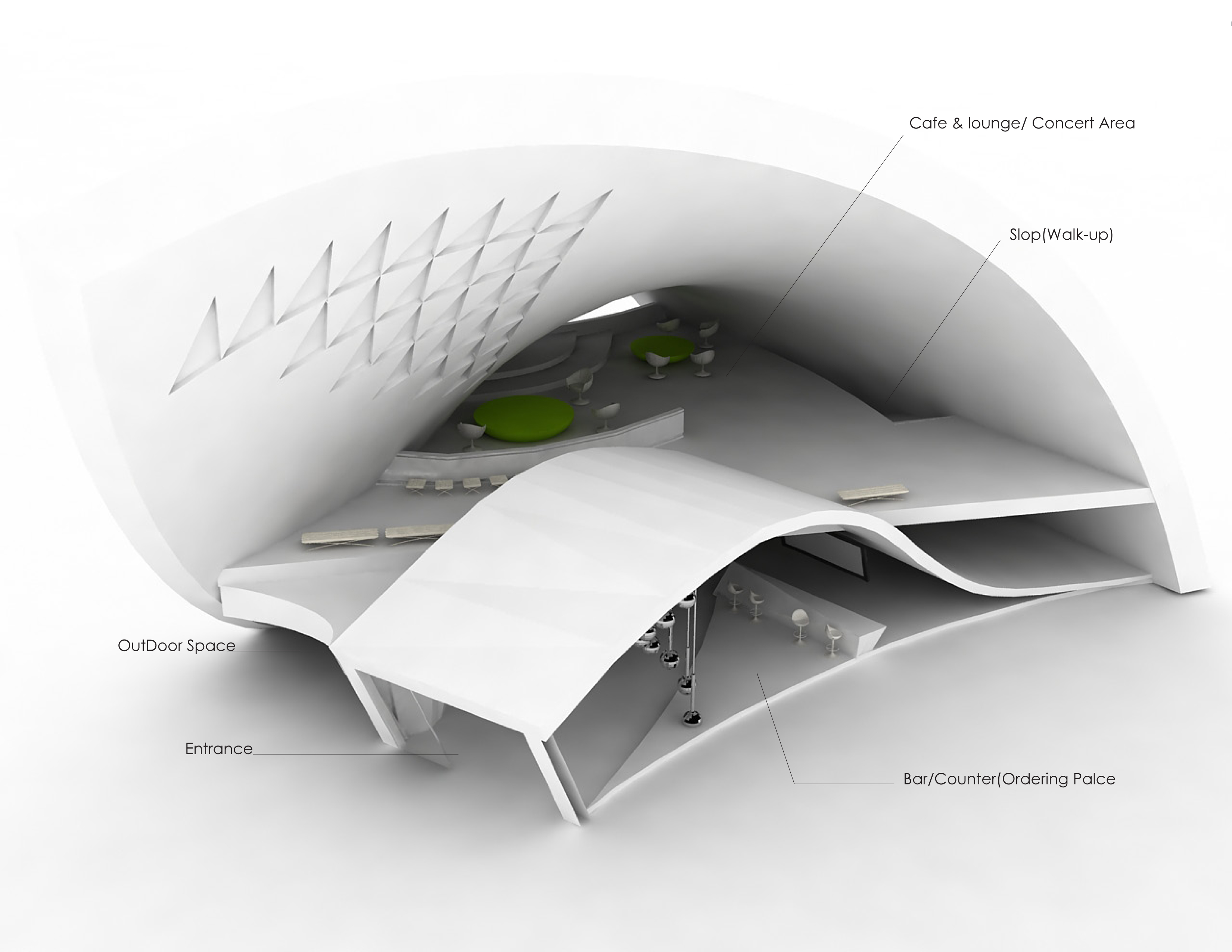 Curved Architecture Architecture By Yoonjung Heo At Coroflotcom