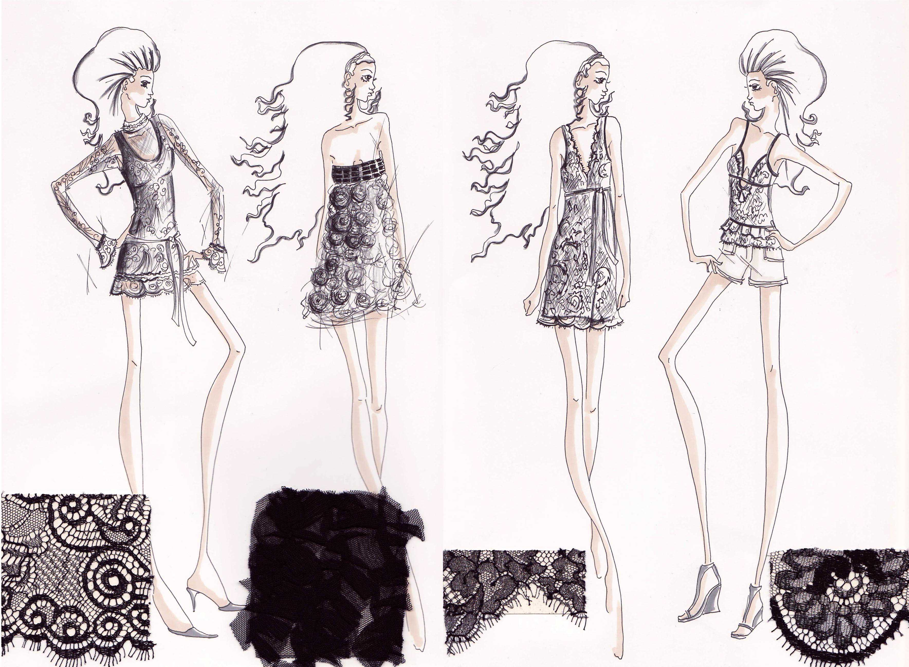 309 best fashion illustration - Alexander McQueen (by for him) 42
