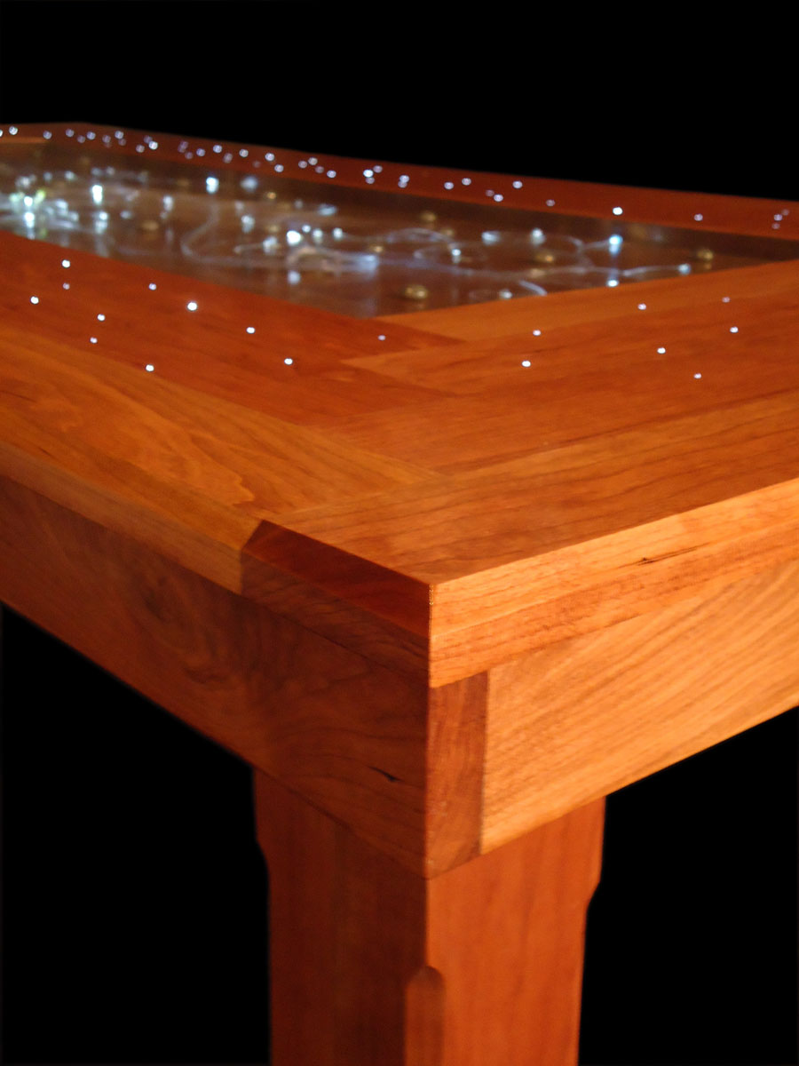 QView Full Size Illuminated Dining Table