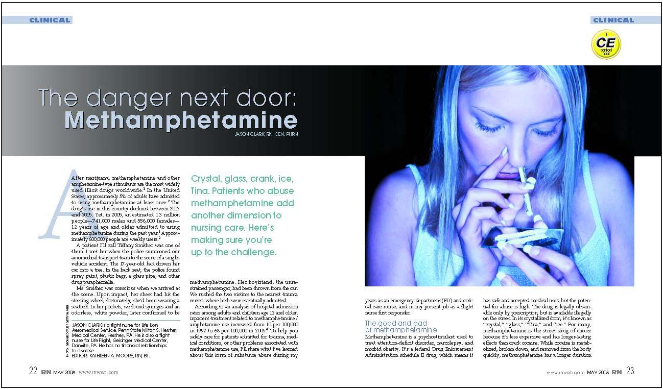 Magazine Article Design Layout