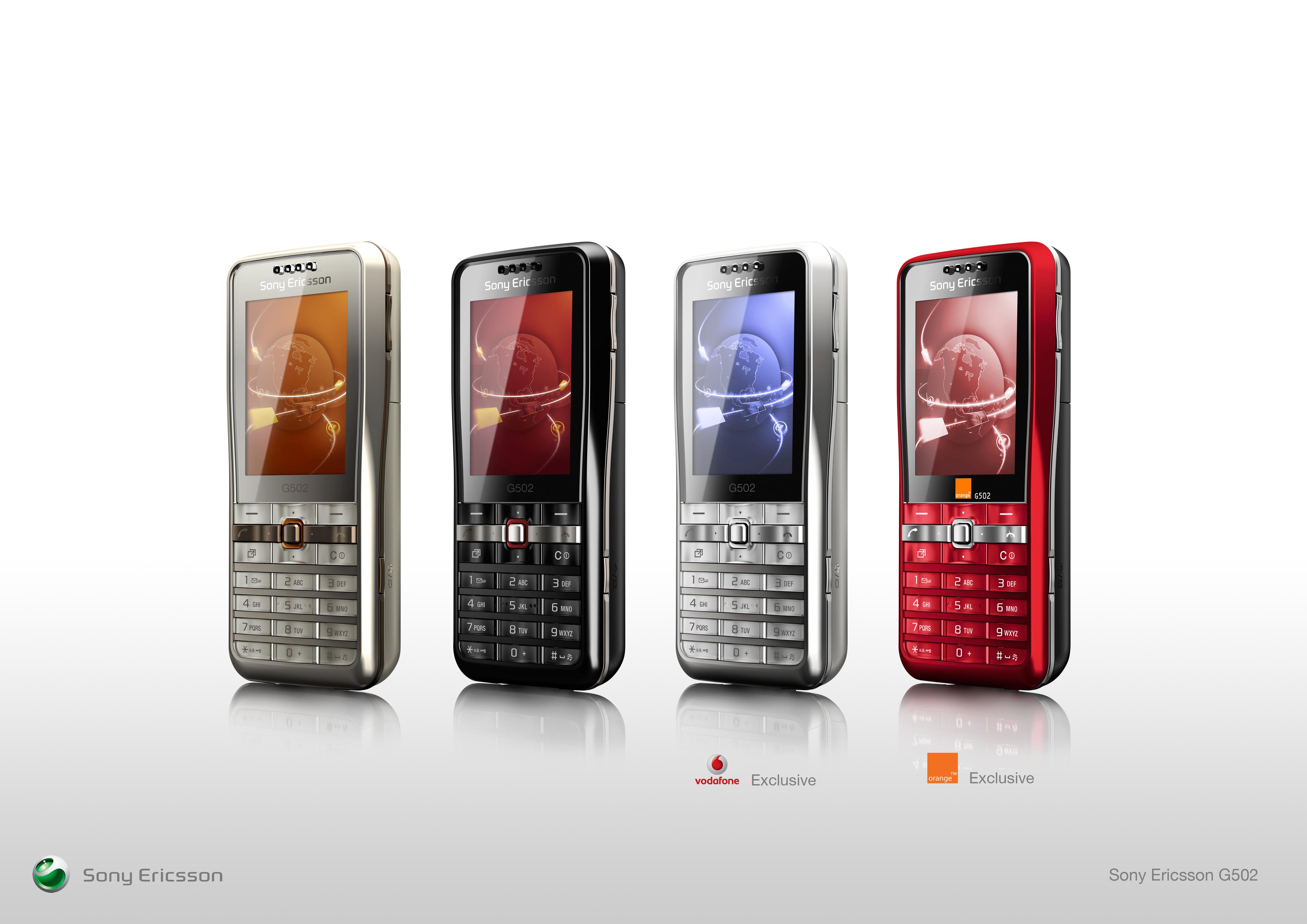 Sony Ericsson G502 by Dave Lim at Coroflot.com