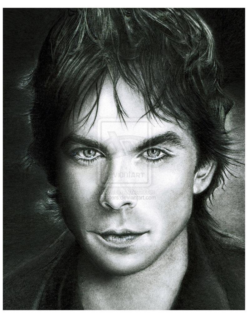 Pencil Portraits of Movie Stars by Debbie Engel at ...