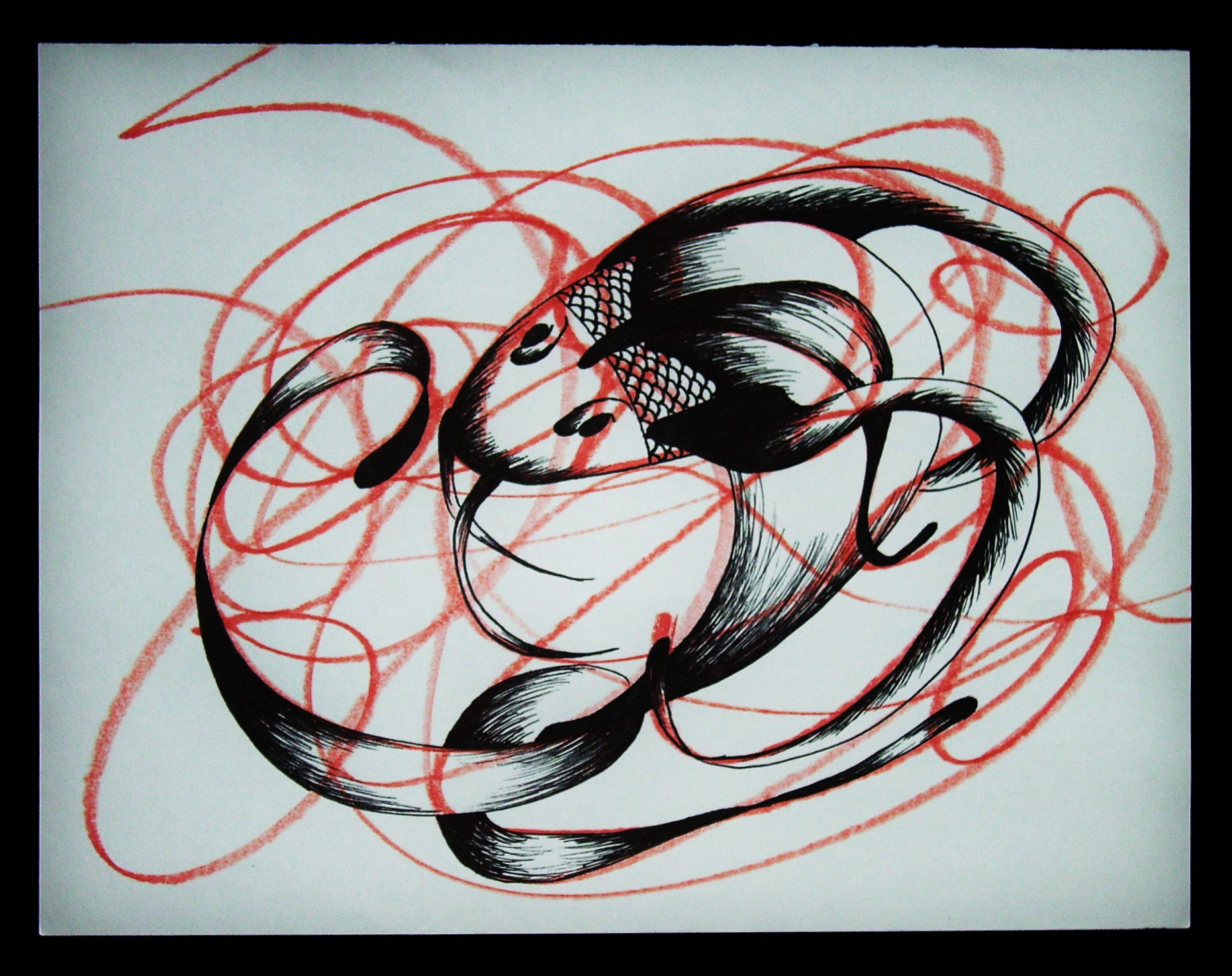 Scribble Drawing Art Therapy : Art therapy by caitlin schuh at coroflot