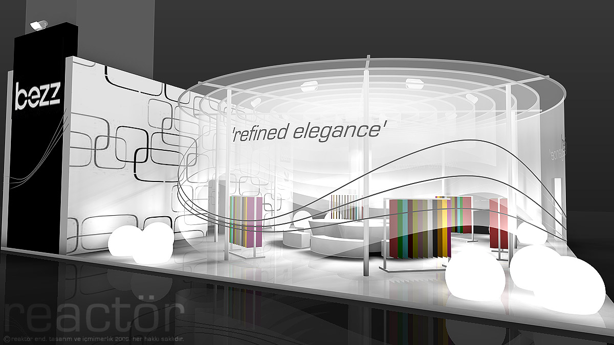 Exhibition Stand Inspiration : Bezz by can sunal at coroflot