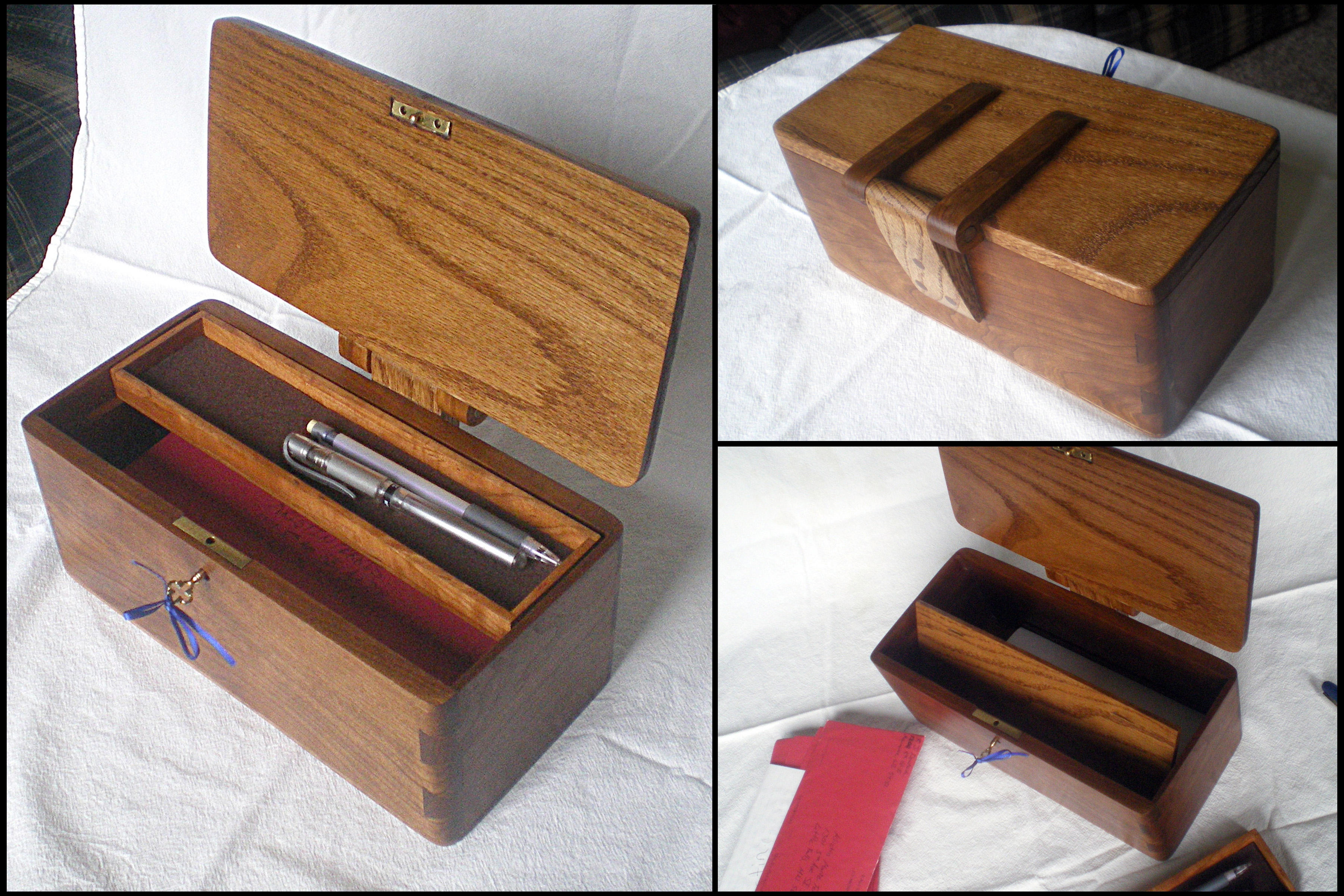 Wooden Box Plans Secret Compartment