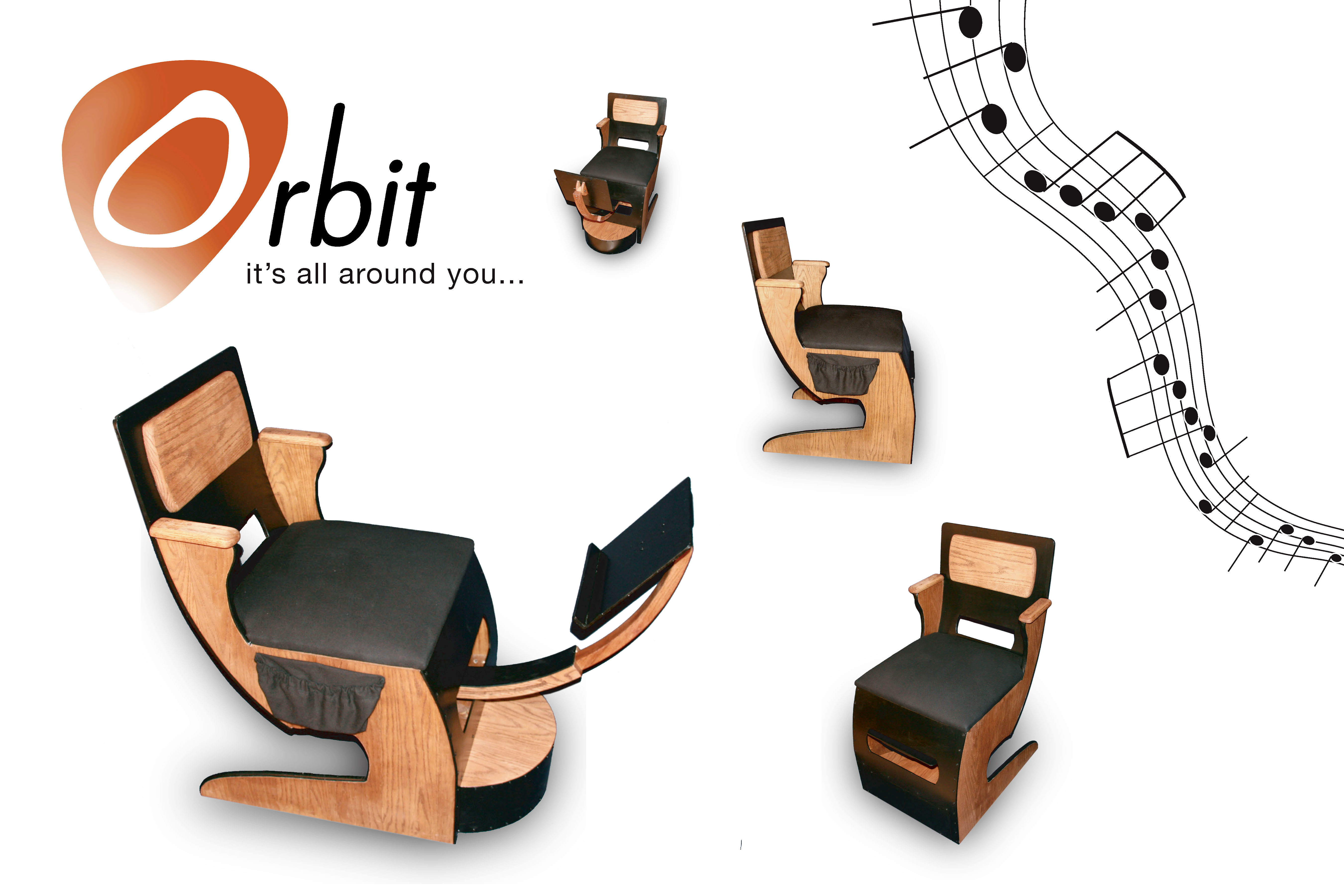 Guitar Chair by Robert Deutsch at Coroflot