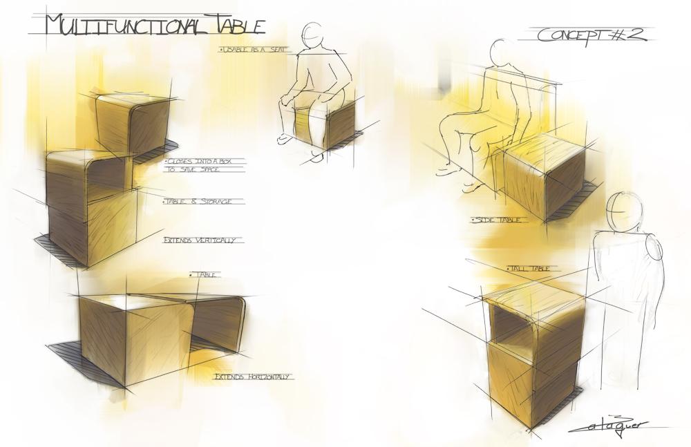 Furniture Design Sketches otherthomas balaguer at coroflot