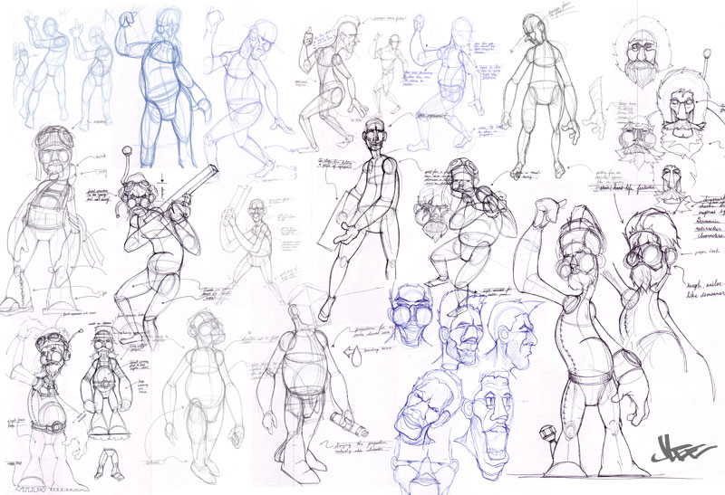 Salary Of Character Designer : Sketches by jon lee at coroflot