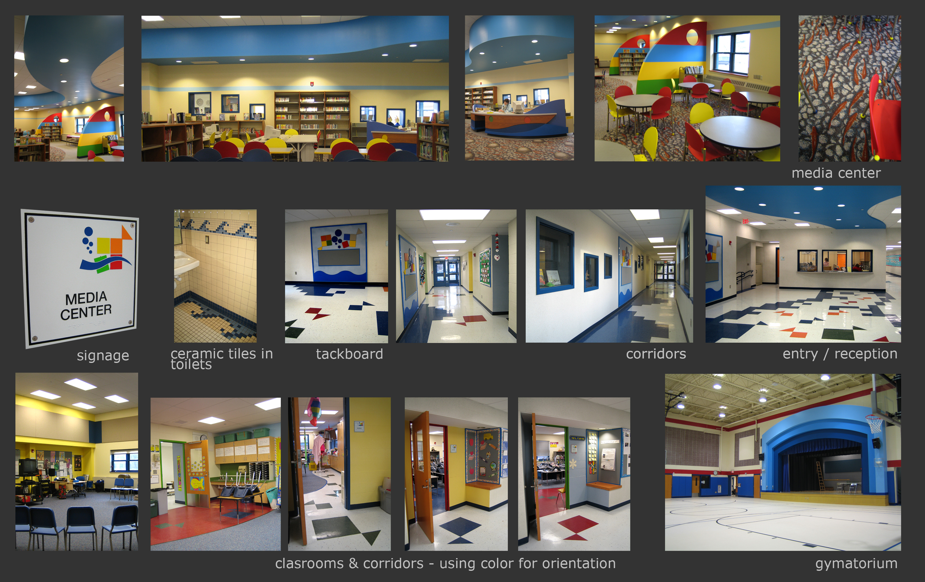 K 4 Grade Elementary School In Newington Ct The Images Comprise Of Interior Architecture Design Furniture And Specification Metaphor