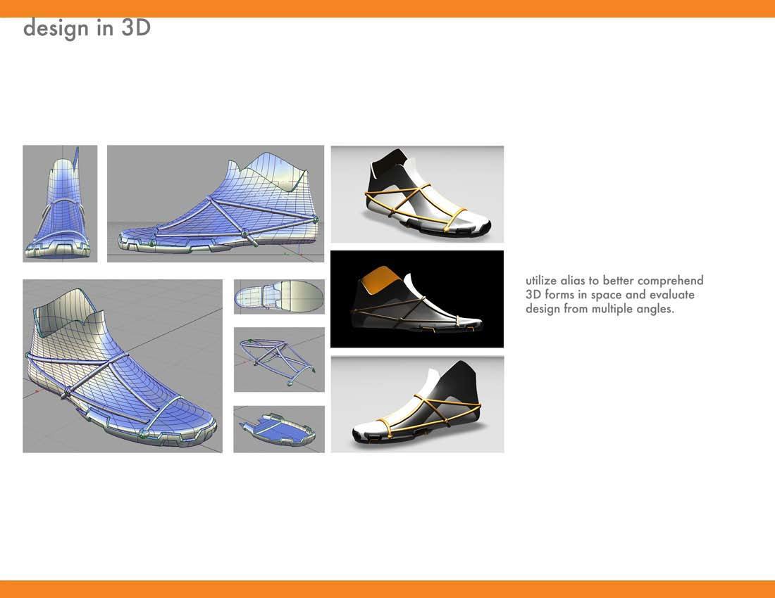 鞋子设计_长沙欧点工业设计培训