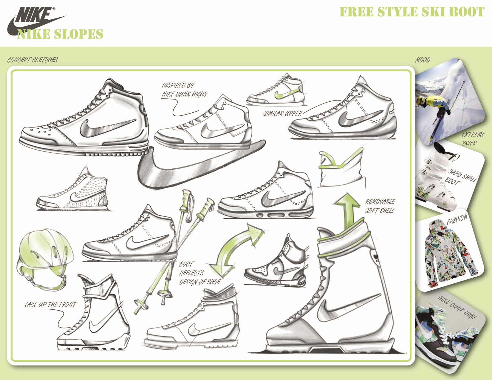 Boot design by nike - Share