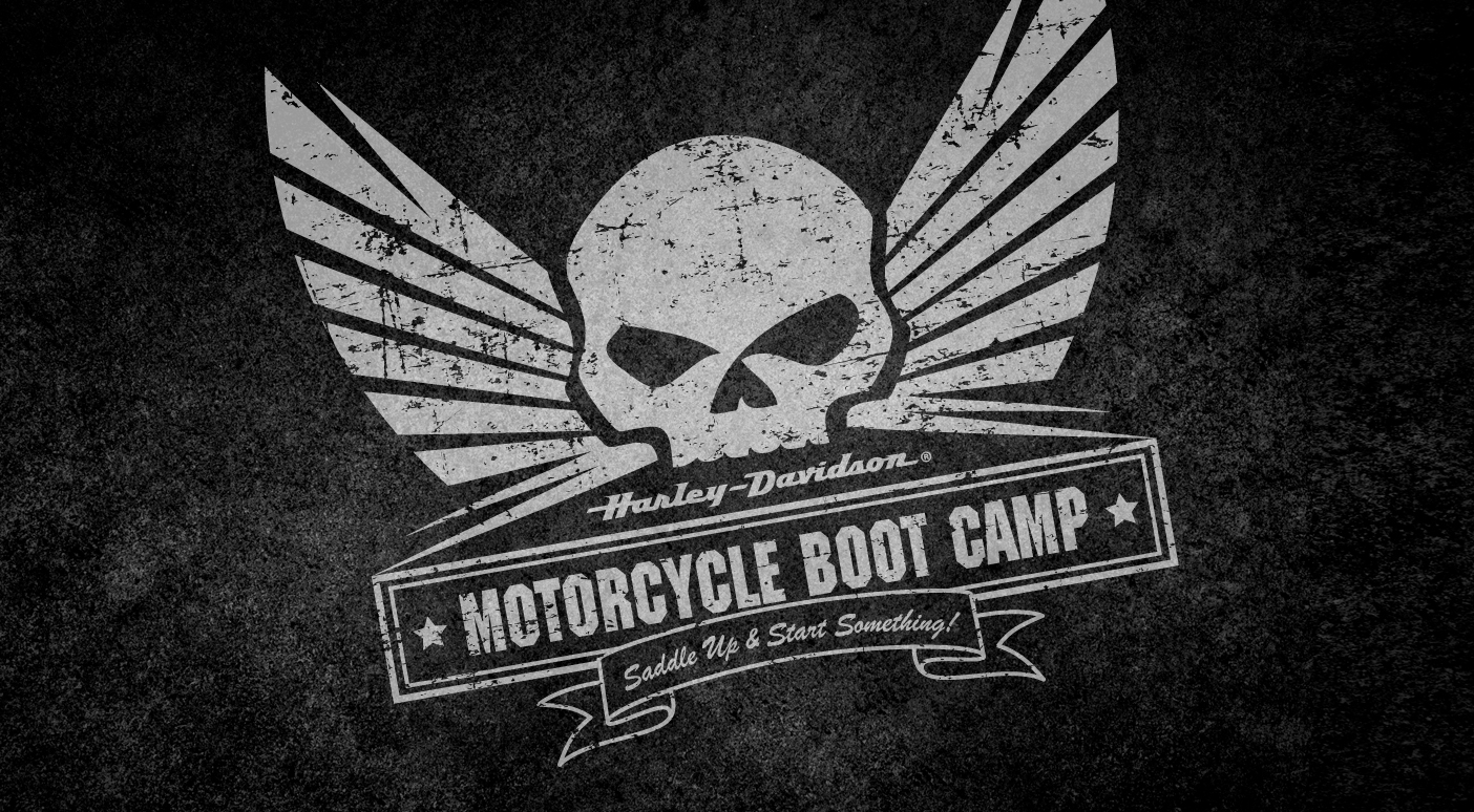 Harley Davidson Motorcycle Boot Camp By Jason Bellinger At