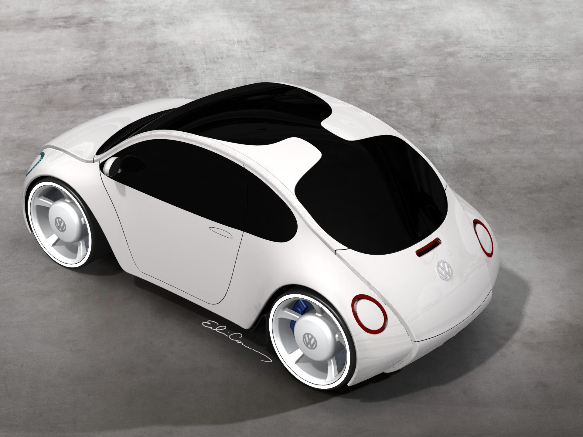 VW Beetle Concept by Edwin Conan at Coroflot.com
