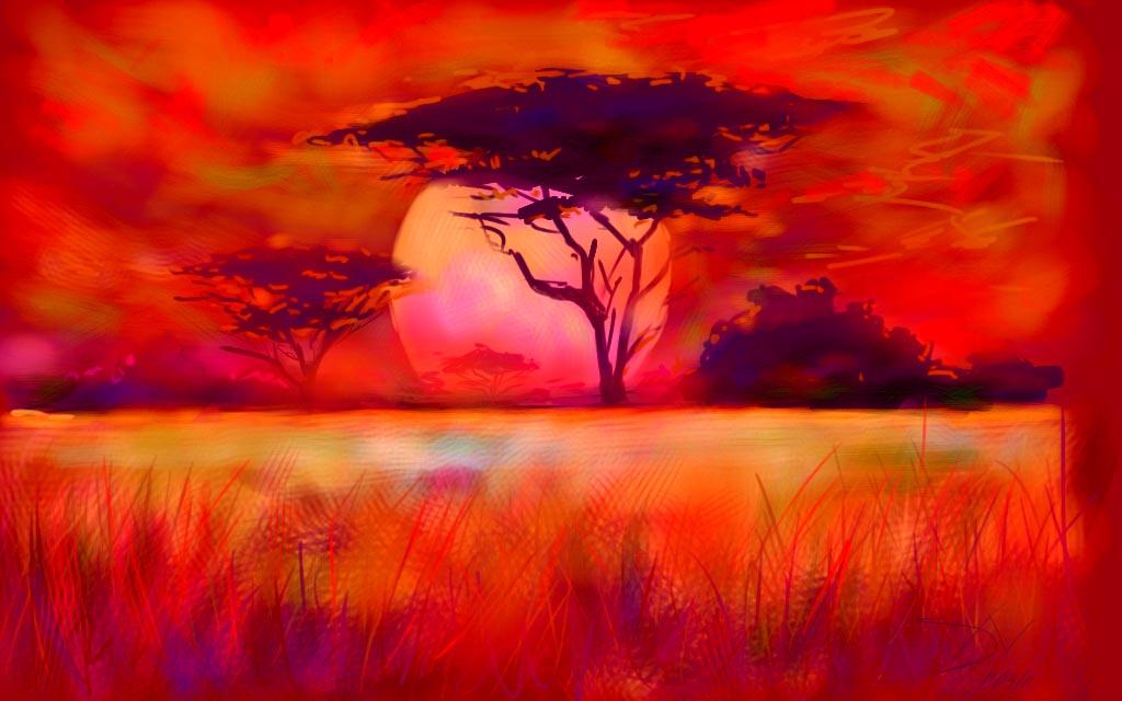 Bildresultat för painting africa