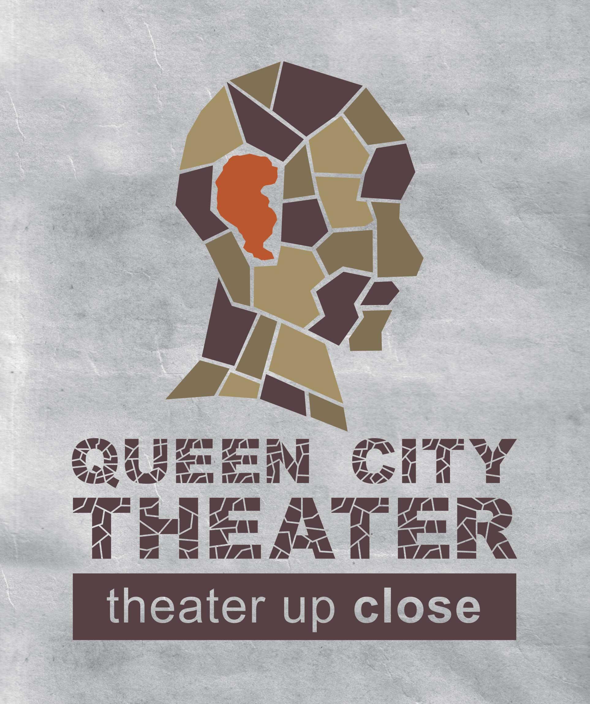 T shirt design on queen city -  2009 Queen City Theater Logo