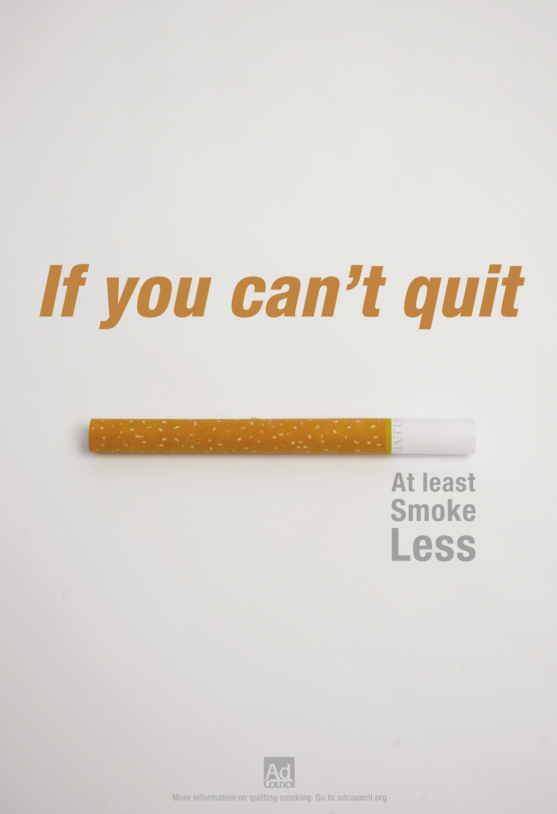 No smoking ads campaigns