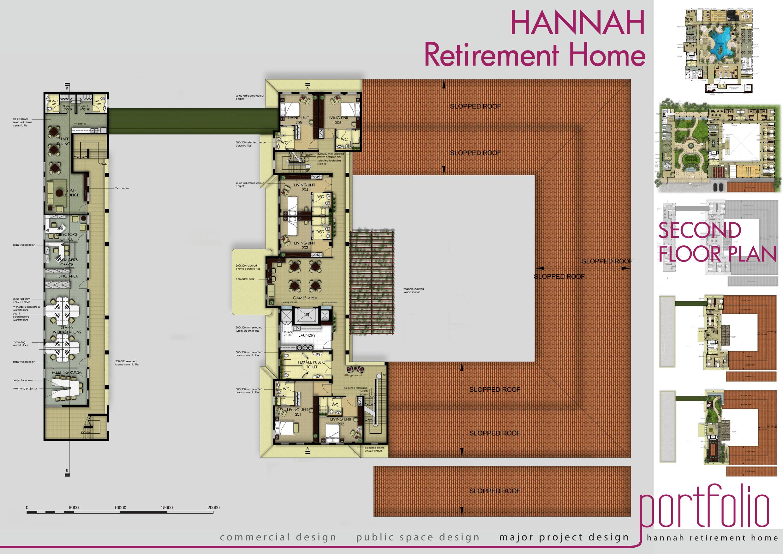 Floor Plan Retirement Home Home Plan