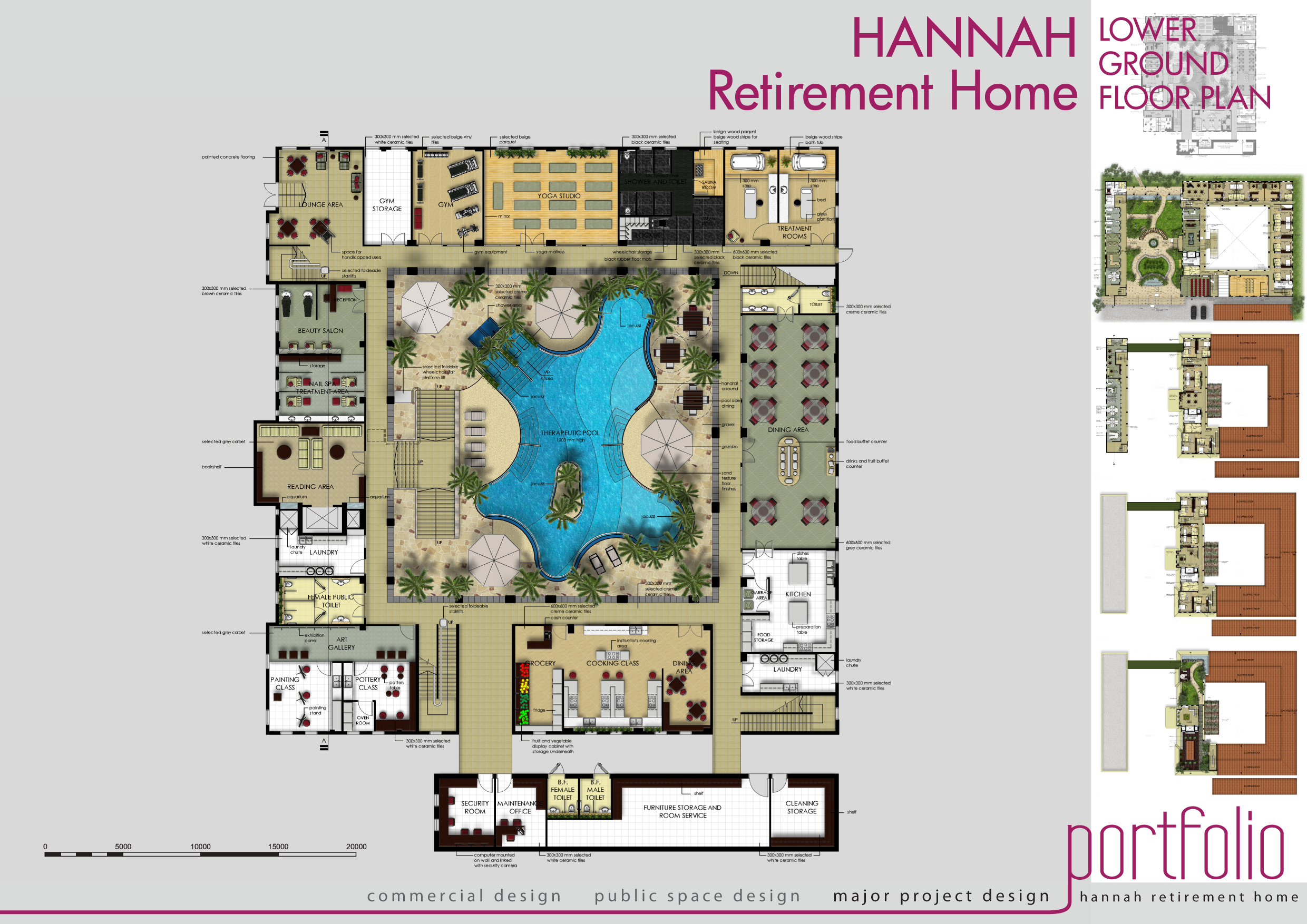 Retirement house floor plans house plans for Retirement home plans