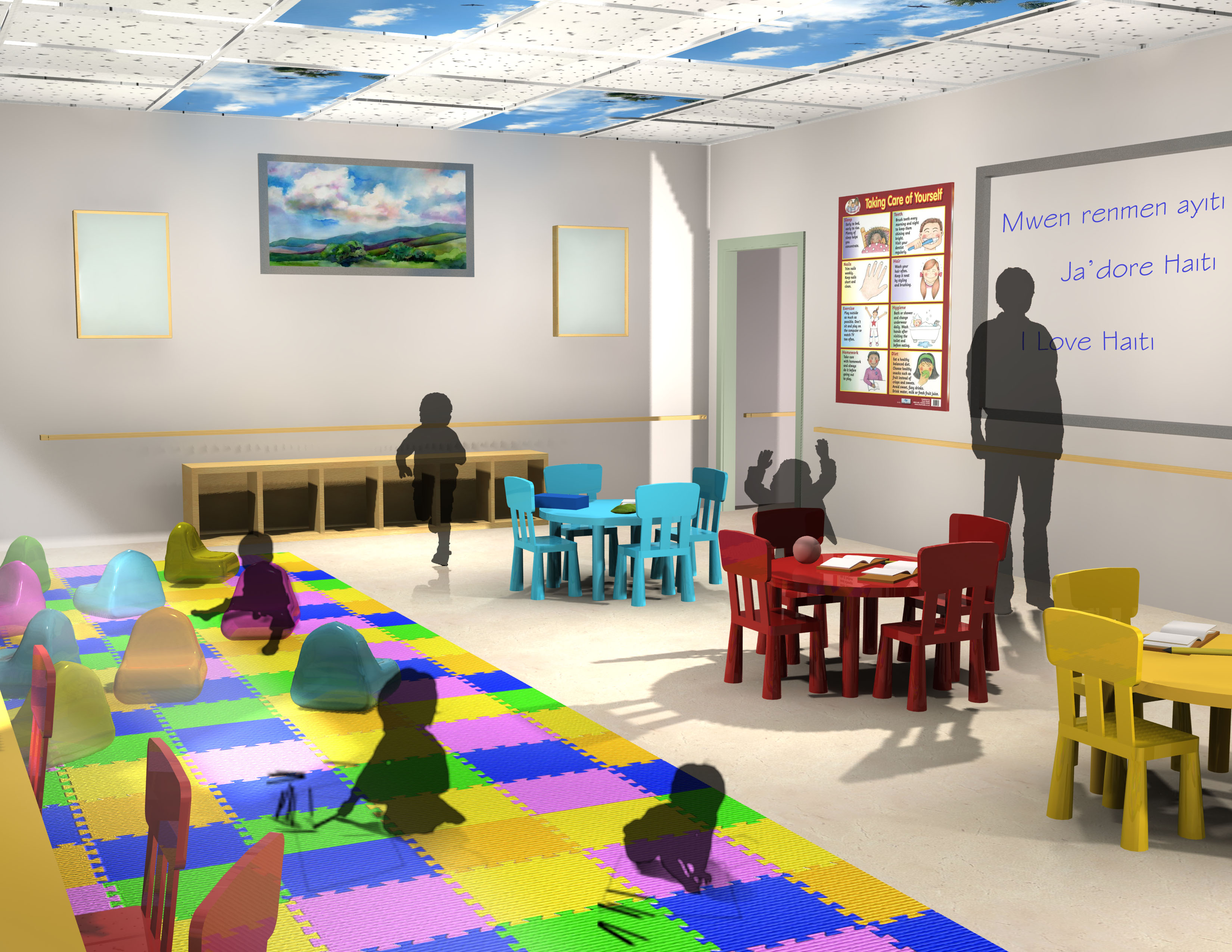 Clinic pediatric physical therapy - Children S Occupational Therapy Bon Maten Good Morning In Ayiti Is A Relief Clinic For Women And Children The Goal Of Its Design Using Modular Units