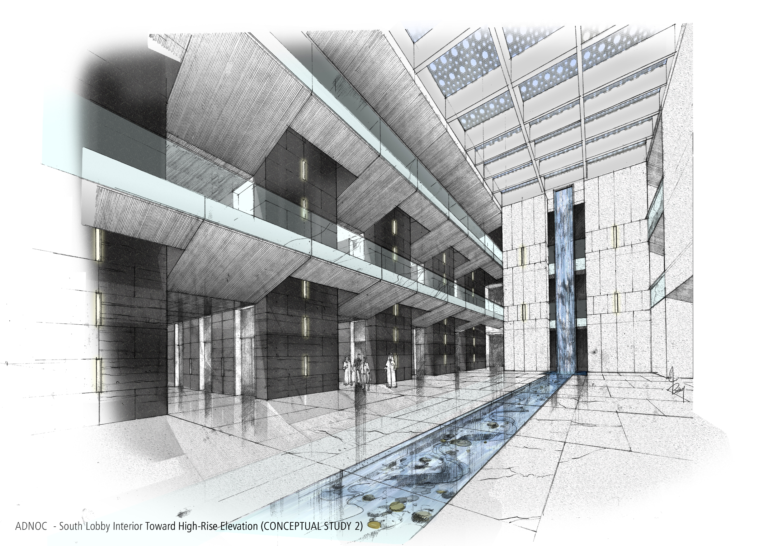 architectural sketches by collin byrnes at