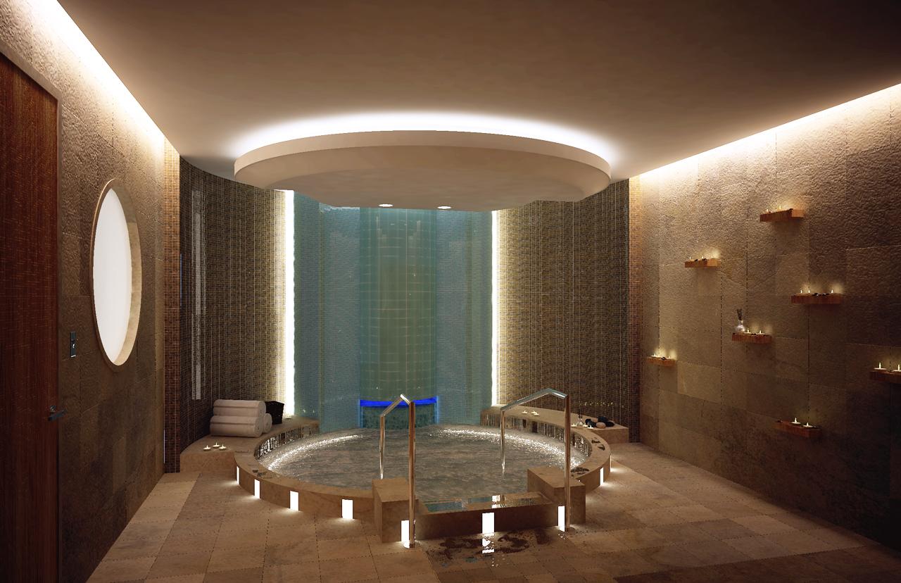 Image gallery spa lighting for Image salon