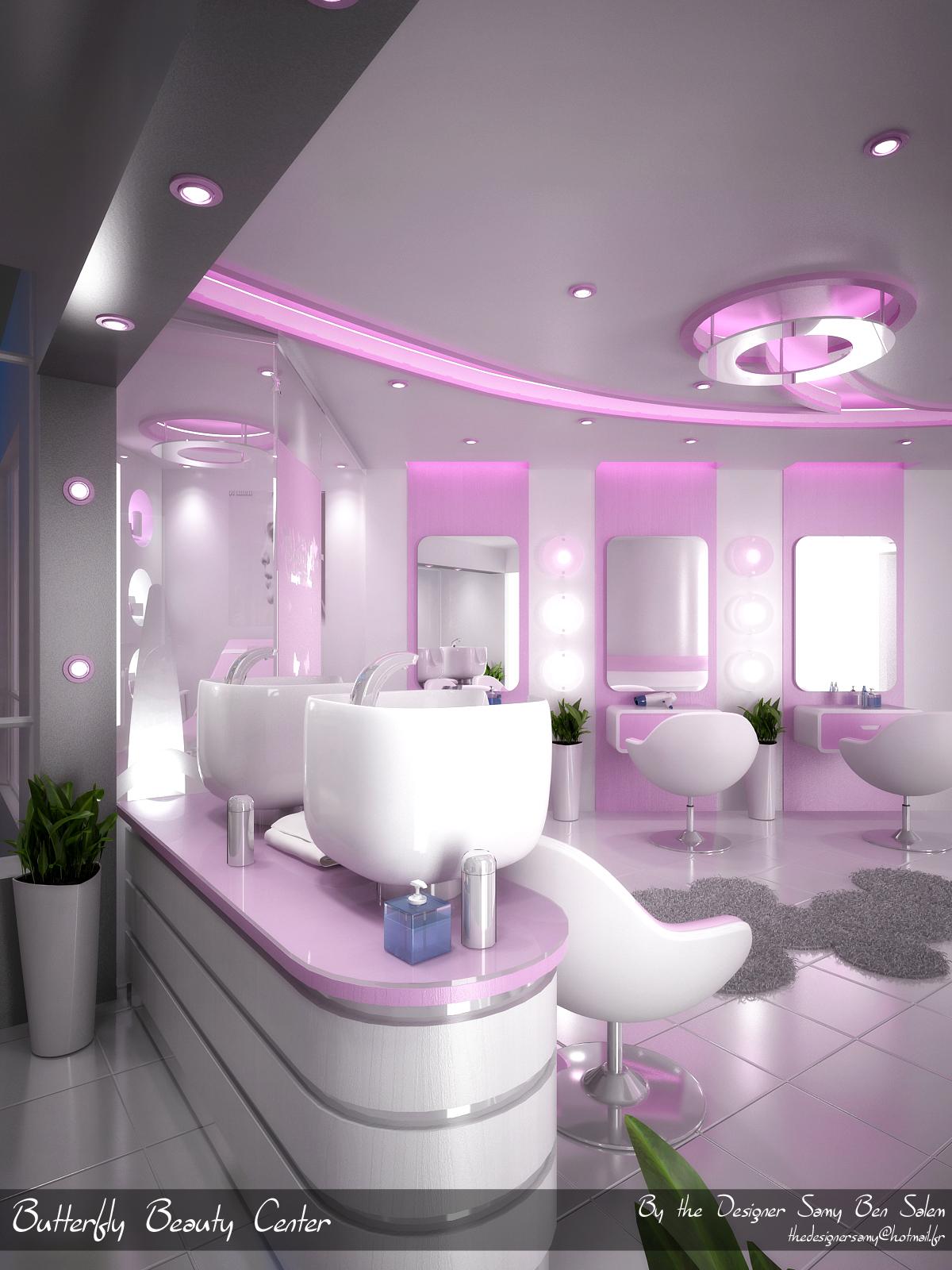 butterfly beauty center by samy ben salem at coroflot com