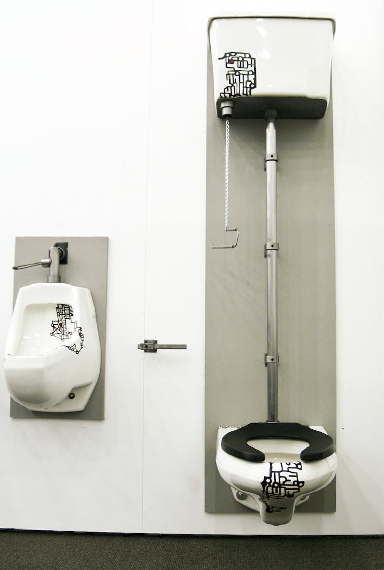 Wall Mount Toilet Tank