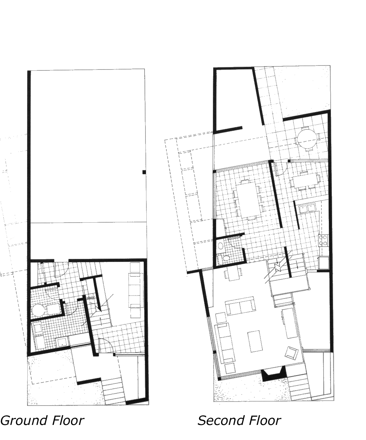 Rowhouse Floor Plans Unique House Plans