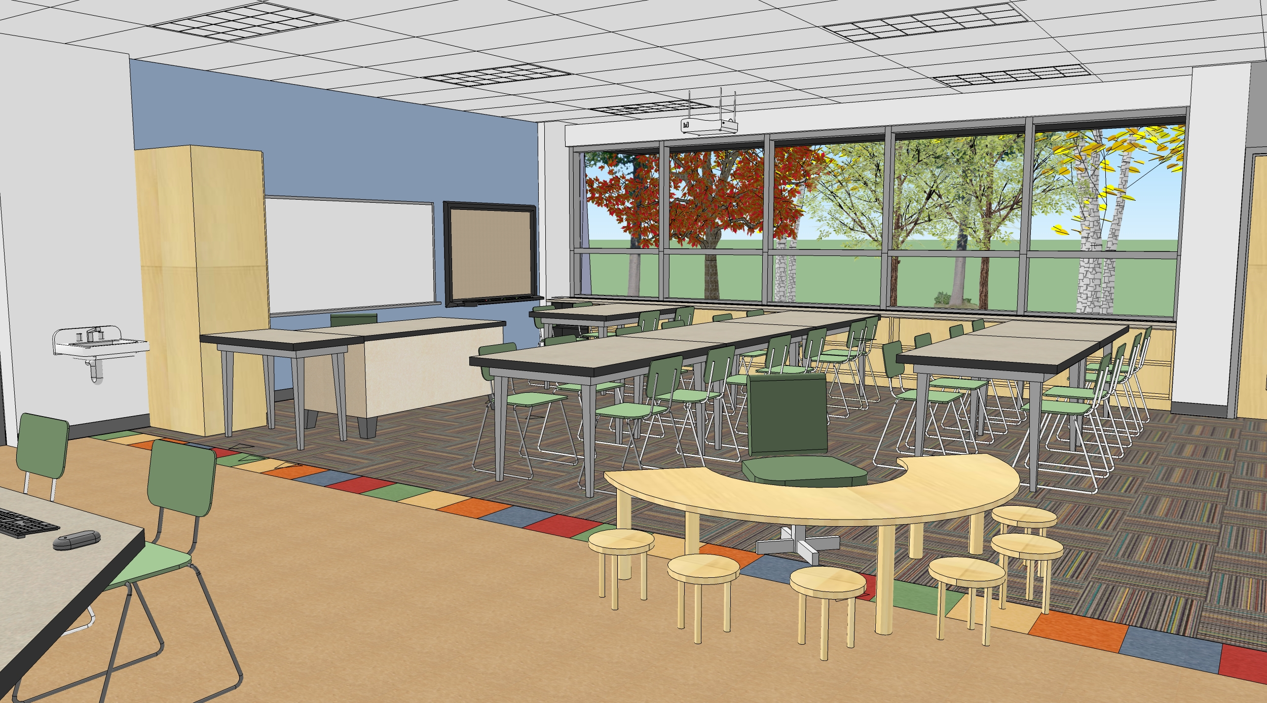 Classroom Design Size ~ Educational design by susan conklin at coroflot