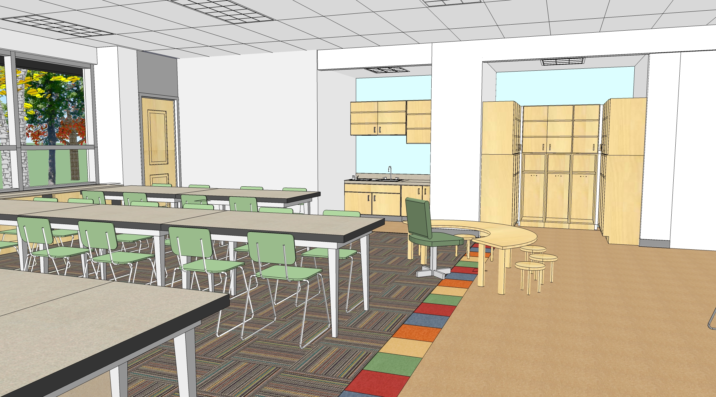 Classroom Design Size ~ Educational design by susan conklin at coroflot