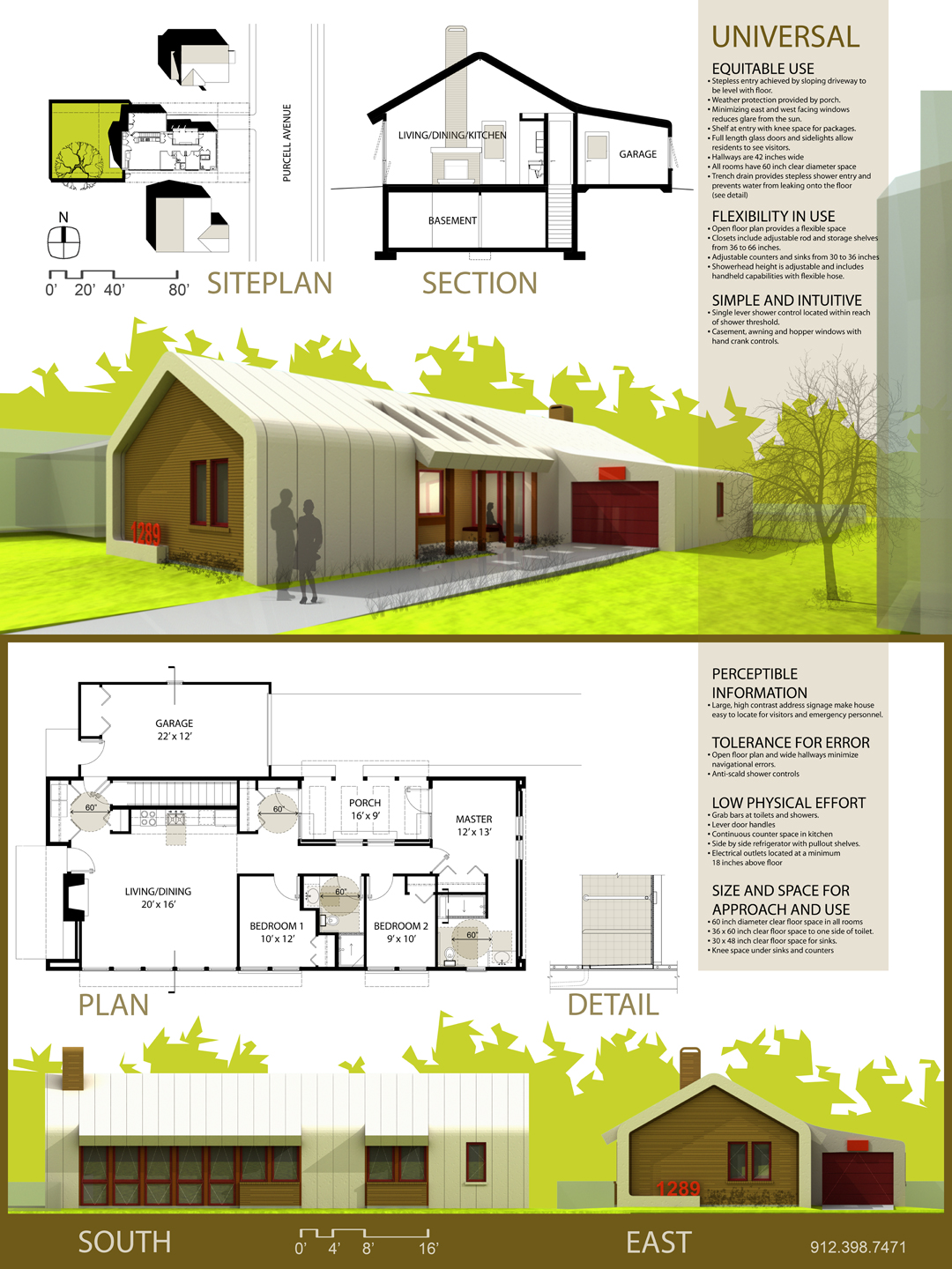 Universal Design House Floor Plan Universal Design House