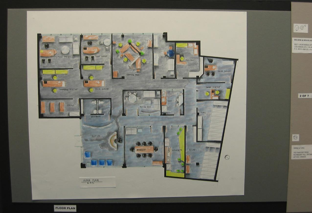 Law Office Floor Plan: Interior Design By Cho-Wai Ben Fung At Coroflot.com