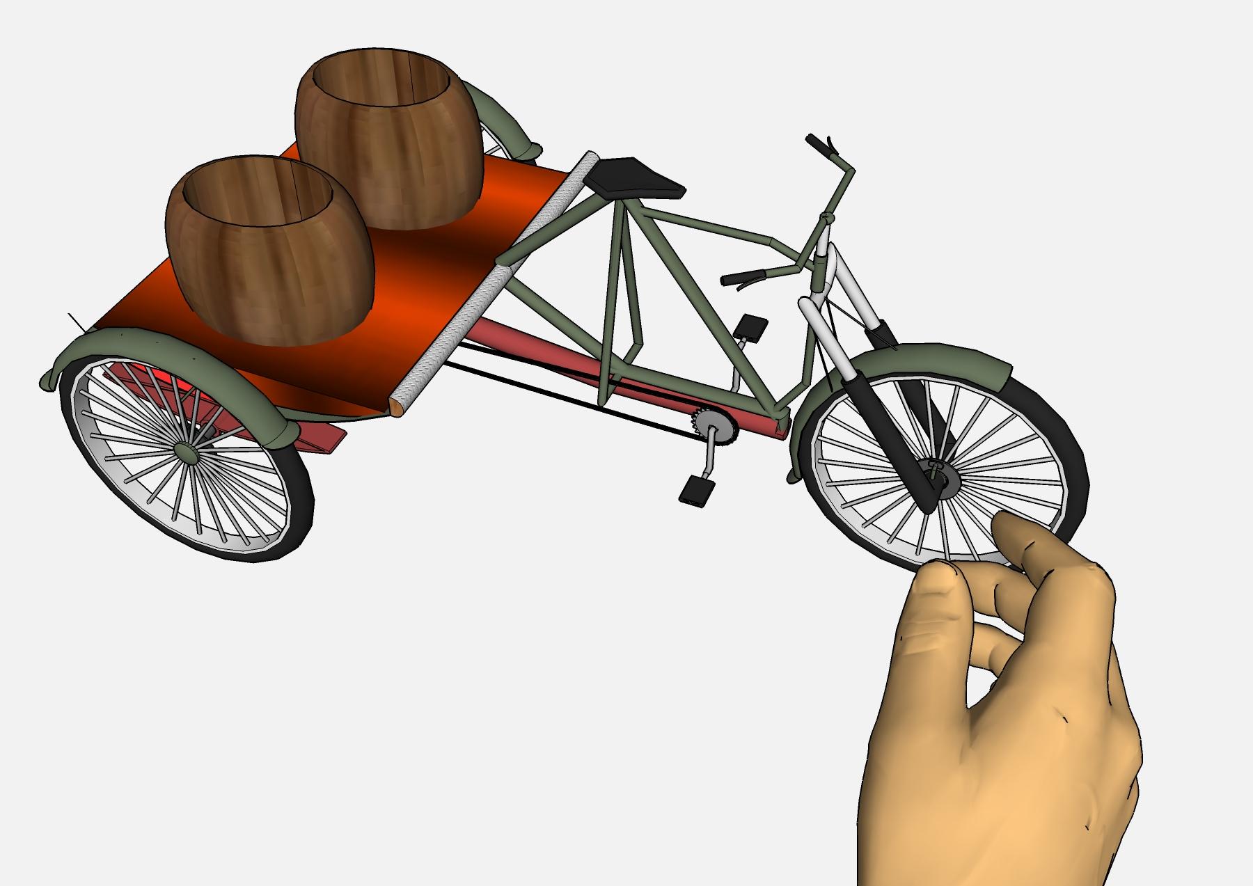 Велорикша чертежи