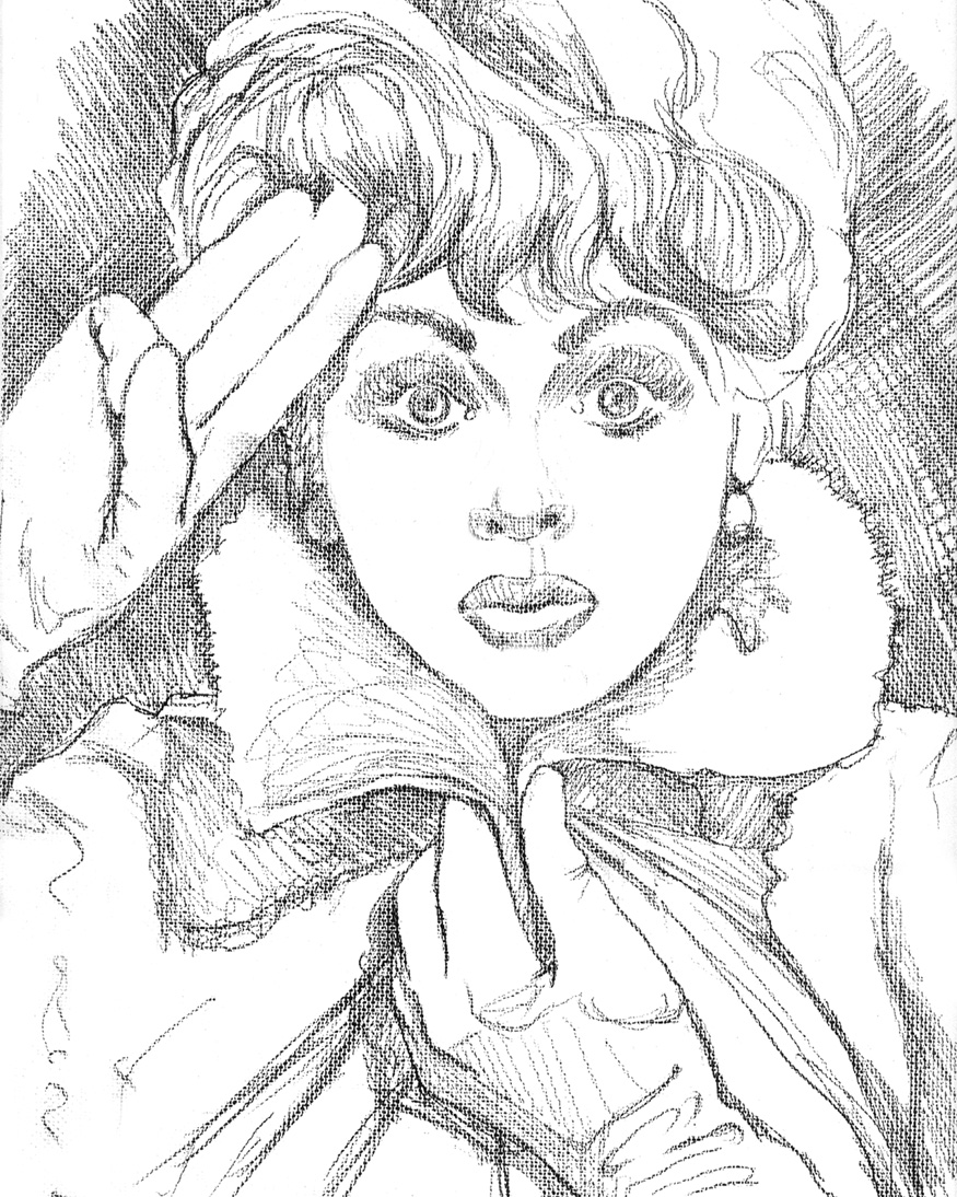 lucille ball coloring pages | How To Draw Lucille Ball Sketch Coloring Page